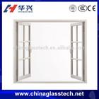 CE&CCC soundproof energy saving PVC frame plastic glass window