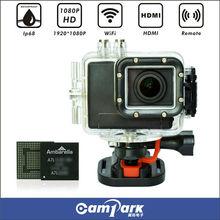 1080P 16MP 60 Meters Waterproof japanese used camera with wifi
