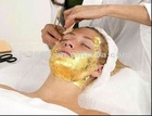 Since 1992 manufacturing Chinese 24 k facial gold mask