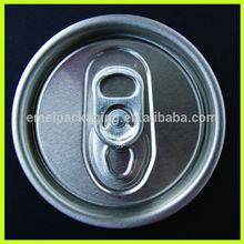 de bebida de aluminio tapa de la lata