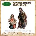 Personalizado natividade enfeites de cena, Santa igreja modelo da decoração do natal