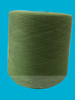 20s/1 polyester recycle spun yarn dyed color many counts