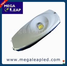 high lumen 100lm/w 80w Bridgelux 45mil cob replacable solar led street light garden