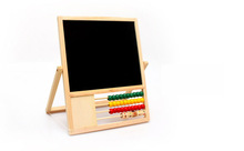 Hot sales Wooden Drawing Board with Beads for kids / sets art gallery / drawing table drafting table