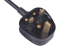 UK 3 pin 250v 13a assemble power plug