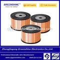 Revestido de cobre alambre aluminio rectangular esmaltado alambre cobre