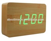magic wooden LED digital clock