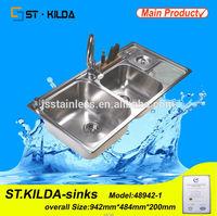 Rv kitchen sink 2014 China Different Types Kitchen Sink Design/Kitchen Equipment/Kitchen Furniture