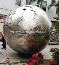 large metal hollow ball