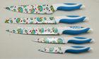 Chic 5pcs non-stick coated kitchen knife set