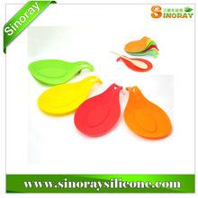 Silicone Spoon Rest Heat Resistant Kitchen Utensil Spatula Holder