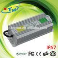 caliente de ca 220v a 110v convertidor de corriente continua a prueba de agua constante tensión 12v 60w led conductor de la energía con el ce rohs de la fcc