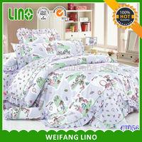 girl baby bedding set/baby crib bedding set/bed mattress cover