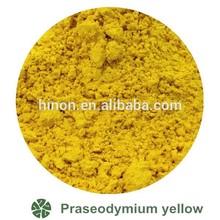 Pr Yellow pigment powders