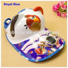 2014 new high quality cute children solar fan cap(HSD-CP-1722)