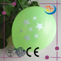 print star baloon for decoration