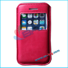BRG Manufacture Ultra thin leather case for iPhone 5S, for iPhone 5S pouch case