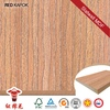 Wholesale laminate floors(discount mould made of hdf board with click system ) Red Kapok