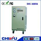 single phase ac voltage stabilizer 30KVA vertical style fully automatic ac voltage stabilizer