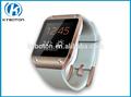 relógio do telefone inteligente com ips touch screen falante chamada de telefone