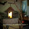 Hotel dekorative retro stock stehlampe messing antik schönes design