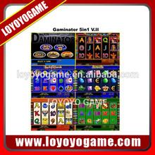 Multi Gaminator 5 In 1 - 45% slot game machine pcb