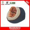 New design round pet carrier dog