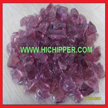 crushed purple glass aggregate