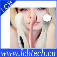 Small iontophoresis apparatus/electronic face massager