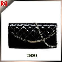 2014 trendy custom elegant wedding envelope clutch bag