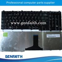 PO layout keyboard for Toshiba C650 blacklit notebook keyboard