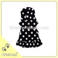 the summer white dot dog dress