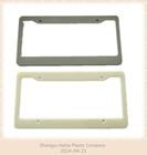 high quality Chromed Plastic License Plate Frame for USA CAR