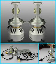 2014 World cup 35W 3200lm golf 6 led headlight, Generation4 DC 12v-24v xenon white headlights led golf 6