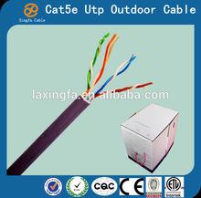 CAT5E 1000FT UTP SOLID BLUE LAN NETWORK ETHERNET CABLE RJ45 BULK WIRE CAT5 1000 cat5e cable 4 pair CE,ROHS,REACH,ETL