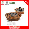 Durable rattan dog bed from china supplier