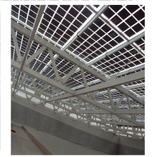 High transparent solar panel low iron tempered glass for building roof solar power system