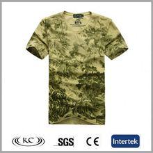 wholesale uk cheap v neck camo fashion men tshirt