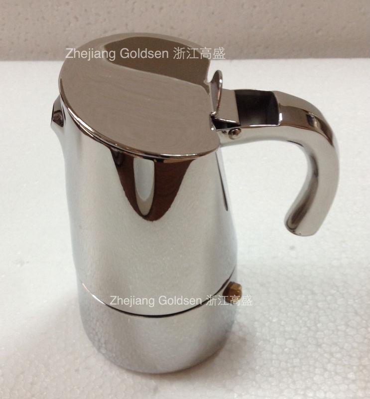 Moka Pot Stainless Steel Stainless Steel Coffee Maker Moka Pot High Quality
