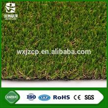 V shaped yarn landscaping fake lawn for gardens 35mm