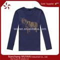 Atacado t- camisas bulk baratos camisetas impressão/t- camisa de tecido de algodão/planície rodada camisetas pescoço- camisa