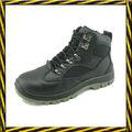 Buena calidad a prueba de agua hombre primera capa de cuero botas de seguridad de trabajo S3 zapatos de seguridad