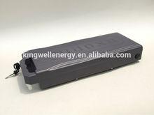 36v 10ah/15ah lifepo4 electric bike battery China supplier(2 years warranty)