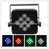 P14C- LED 9*4in1 10w Wireless Flat Par Can