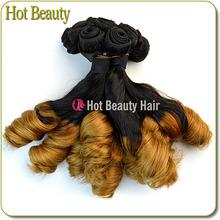 Grade AAAAAA Two Tone Ombre Hair Weaves,Brazilian Ombre Hair Weaves 1b 613 two tone hair