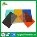 100% bayer makrolon 4mm colored translucent polycarbonate embossed panels for sale