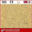crystal beige artificial quartz stone construction materials QZ808