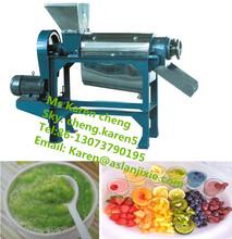 fruit and vegetable pulp press machine/fruit pulp juice making machine