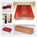 Personalizados de madera artesanal de regalo la caja de joya, antiguos tallados a mano de madera cajas