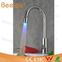 led automatic kitchen faucet sensor kitchen mixer